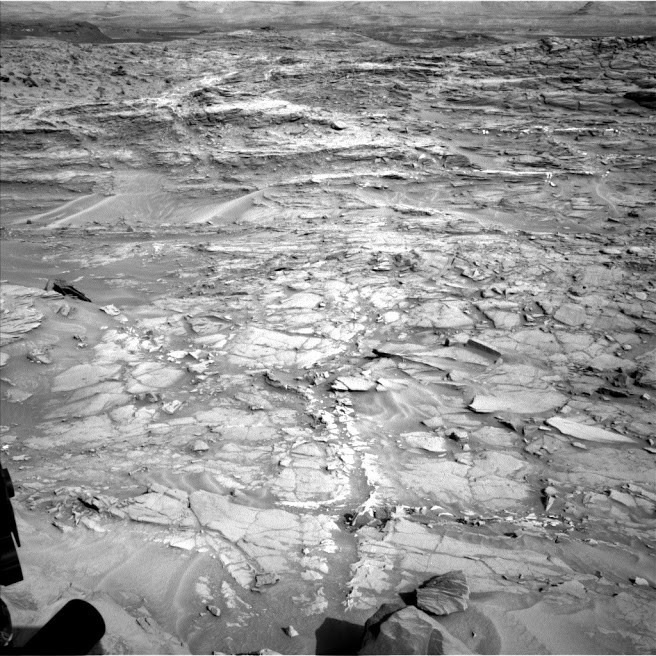 La Nave de Marte, fotografía del Curiosity.