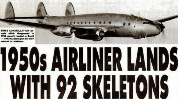 Avión que despegó en Alemania en 1954 y aterrizó en Brasil después de 35 años.