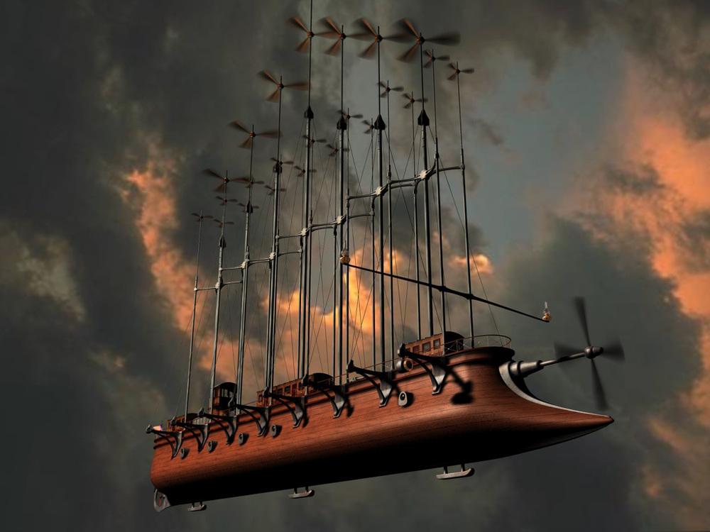 JV helicoptero - Julio Verne y sus increíbles vaticinios que parecían ciencia ficción y hoy son toda una realidad.