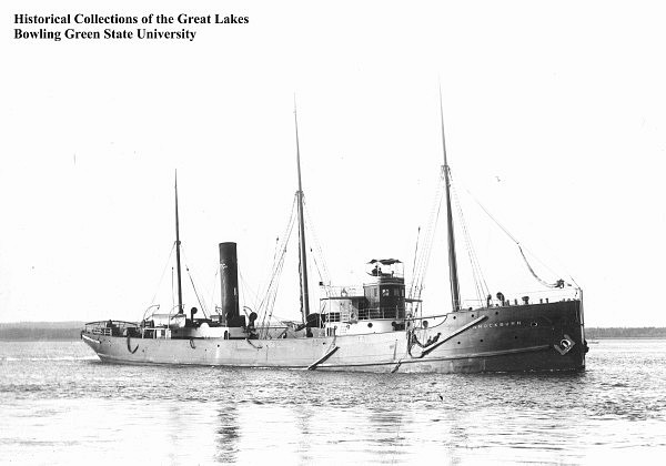 bannock - Bannockburn, el barco fantasma de los Grandes Lagos