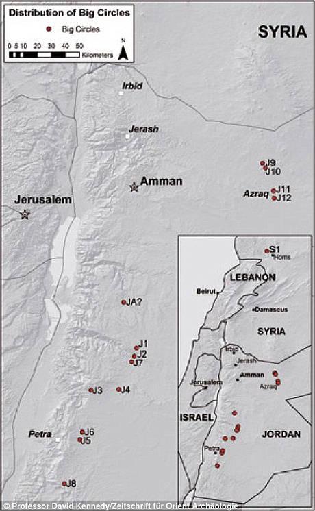 El misterio de los Círculos de Piedra de Jordania