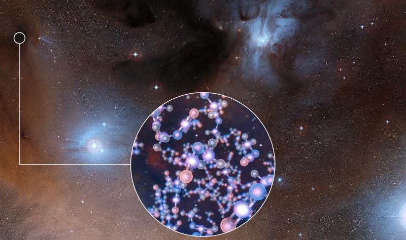 ALMA detecta moléculas orgánicas en estrellas jóvenes que sugieren que la vida en la Tierra llegó de nuestro Sol