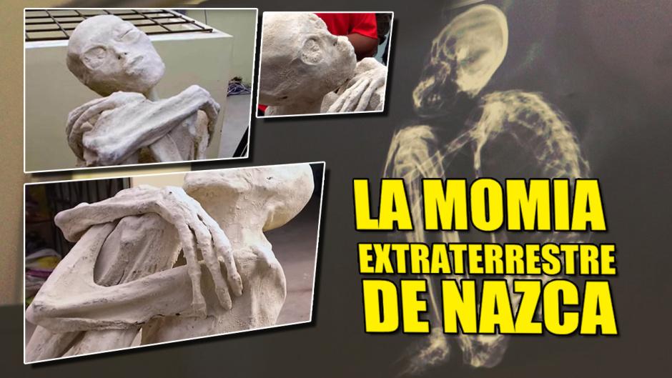Encuentran una extraña Momia en NAZCA con aspecto extraterrestre