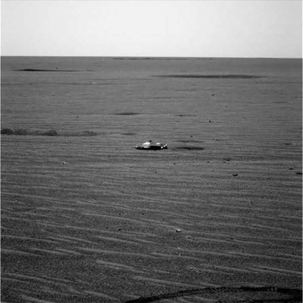 El Rover de la #NASA descubrió un automovil #extraterrestre en Marte
