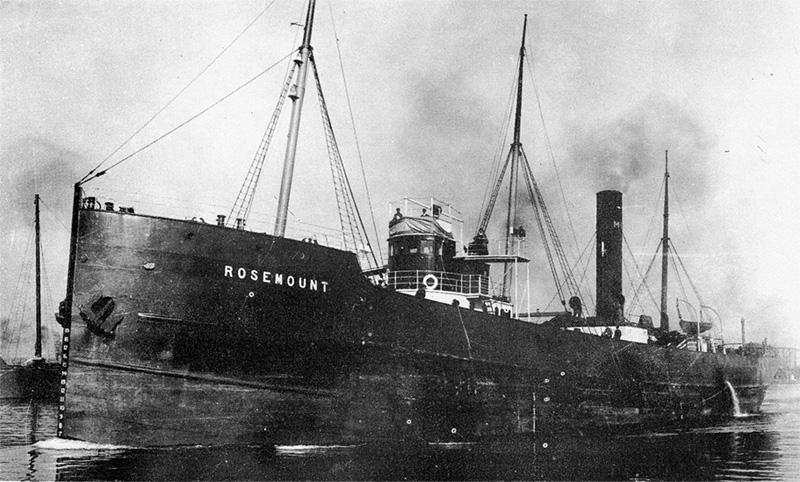 rosemount - Bannockburn, el barco fantasma de los Grandes Lagos