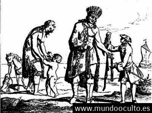 """""""Los Gigantes de América Del Sur"""" y su encuentro con los primeros colonos"""