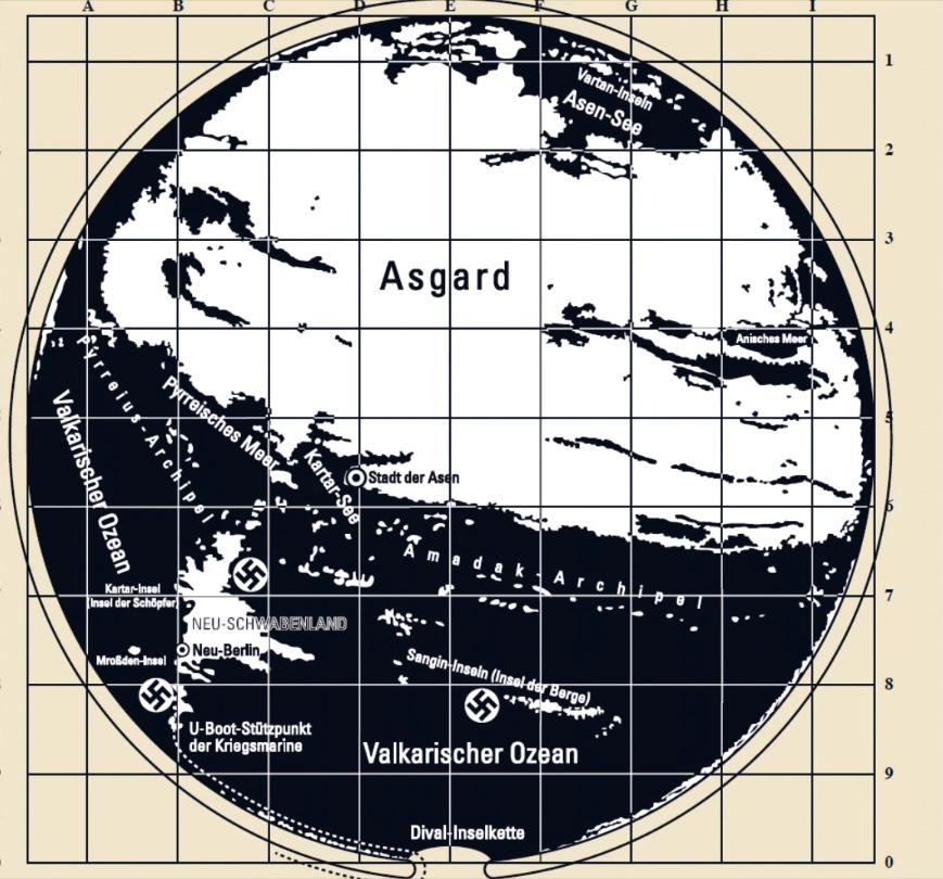 2 1 - Un misterioso Mapa secreto de la Antártida revela Coordenadas para llegar a la Tierra Hueca