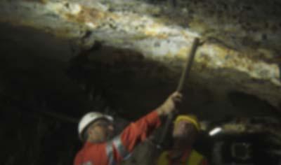 """Descubren """"rueda de carroza"""" de 300 millones de años de antigüedad en lo profundo de una mina"""
