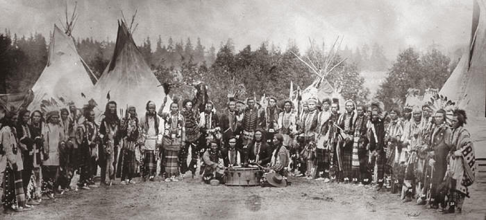 La antigua raza de gigantes blancos descrita en las leyendas de diversas tribus nativas americanas