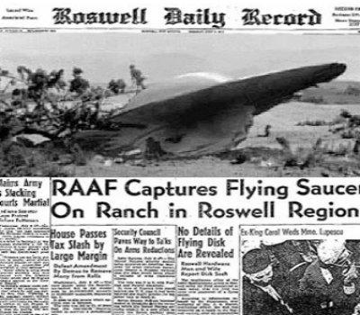 Un documento secreto representa la evidencia contundente del accidente OVNI en Roswell