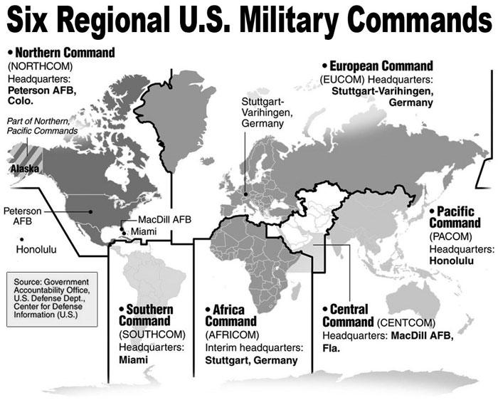 Ébola, el Pentágono se instala en África