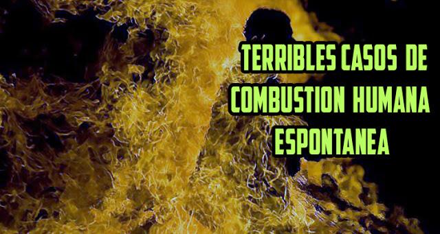 La combustión humana espontánea