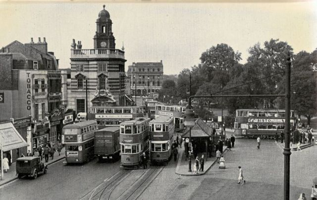 Camberwell green londres 1950