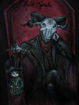Abyzou, malvado demoniode la religión Judía, responsable de cada aborto que sucede en el mundo
