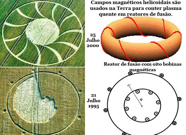 Cientifico italiano utiliza diseño de #cropcircles para crear motores magneticos