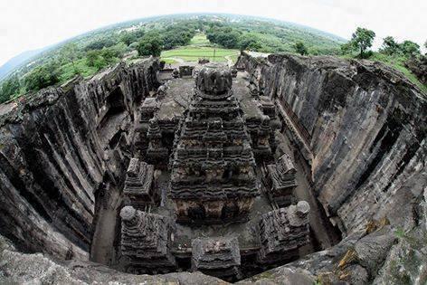 15 imágenes alucinantes del templo Kailasa ¿Prueban estos que el hombre antiguo poseía una avanzada tecnología?