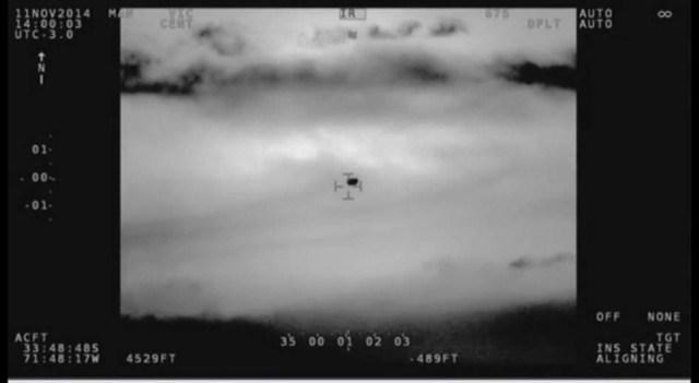 La Armada chilena confirma el avistamiento de un ovni