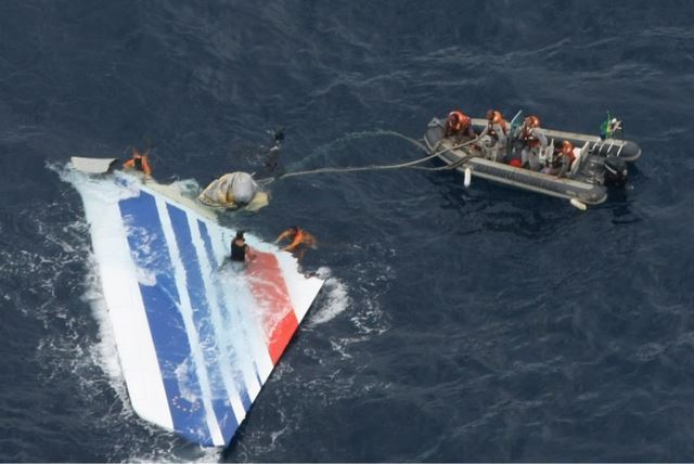 Air France airbus accidente