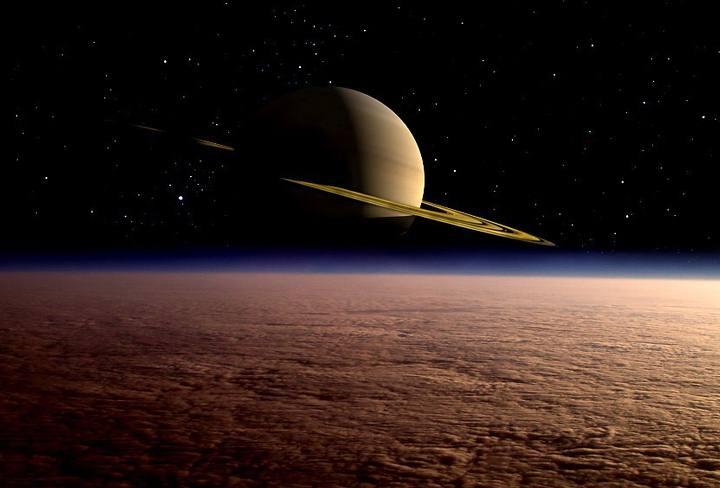 Descubren una molécula clave para la formación de microorganismos en la atmósfera de Titán