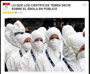El gobierno de EEUU adquiere 160.000 trajes de protección contra el Ébola