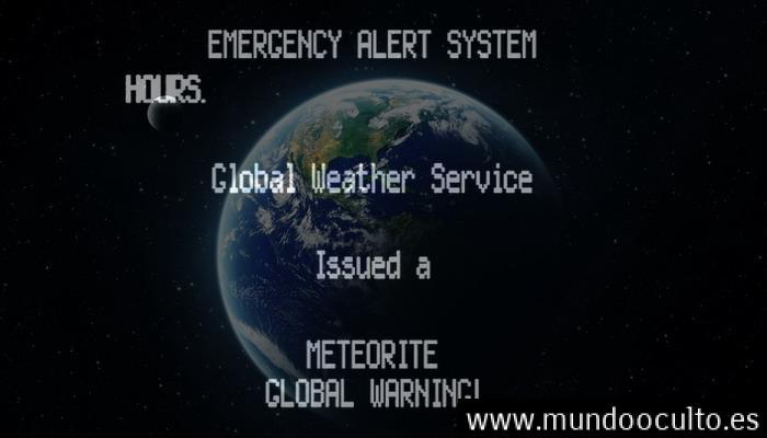 Rusia emite una advertencia de un meteorito horas antes del estrellamiento del vuelo 804 de EgyptAir.