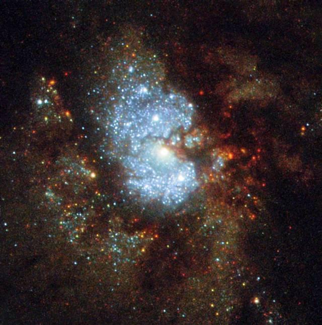 Hubble revela la existencia de una «galaxia oculta» cercana a la Vía Láctea