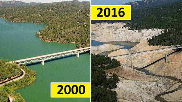 Las increíbles y perturbadoras imágenes del cambio climático