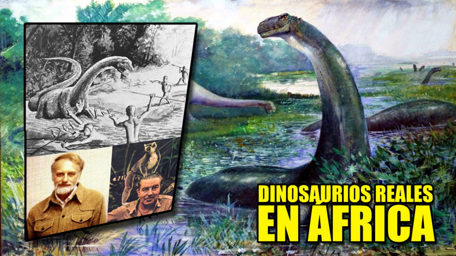¿Se esconden Brontosaurios vivos en una cueva de África?
