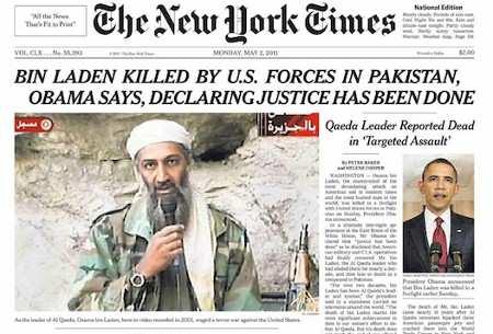 La muerte de Bin laden fue un montaje mediático