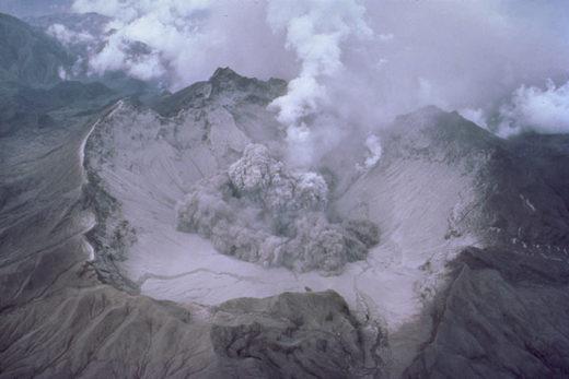 Cómo un volcán que nadie ha podido encontrar produjo la época más fría en el planeta durante siglos