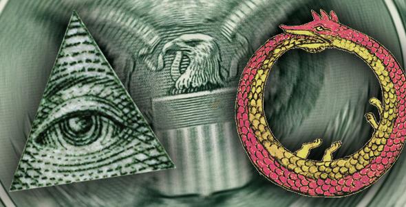 Codex Magica 13: El Enigma Del Gran Sello De Los Estados Unidos, El Ojo Y La Serpiente Ouróboros