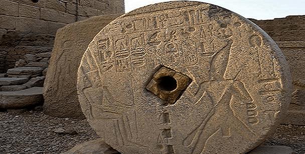 Esta piedra es evidencia de la tecnología avanzada en el antiguo Egipto.
