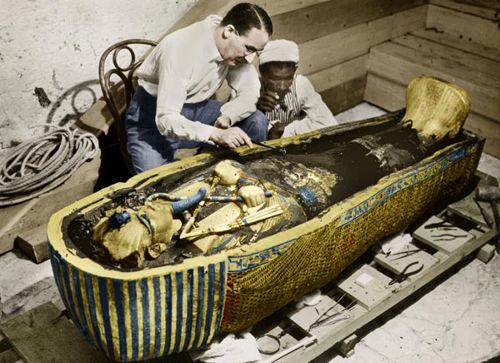 La maldición del Faraón Tutankamón