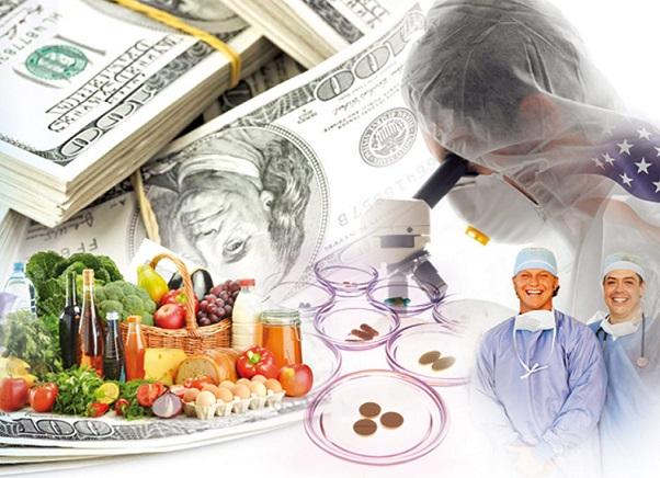 Las industrias farmacéuticas y alimentarias sobornan a los políticos