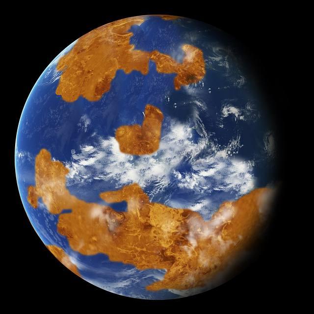 Venus pudo ser un mundo con océanos