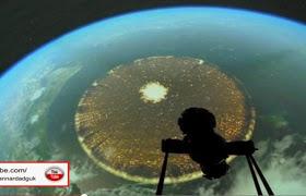 Fotografiado desde la ISS un «Enorme Anomalia» con un diámetro de 5.000 kilometros