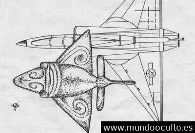 aviones oro1 - ¿Peces voladores, pájaros o AVIONES en la ÉPOCA PRECOLOMBINA?