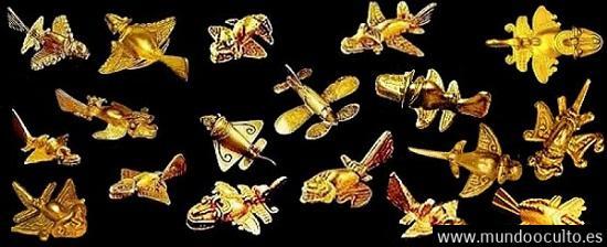 avionesprecolombinos coleccion - ¿Peces voladores, pájaros o AVIONES en la ÉPOCA PRECOLOMBINA?