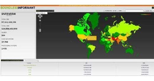 """Así funciona """"Boundless Informant"""", el sistema de análisis de datos de la NSA"""
