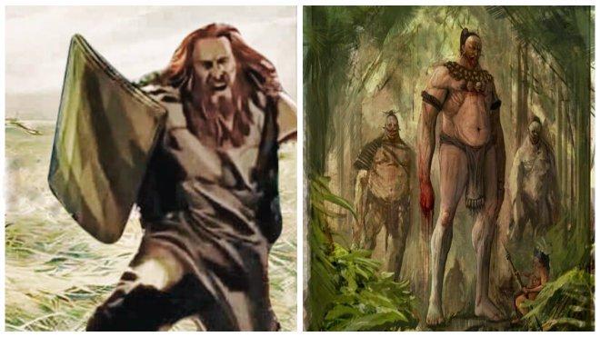 Estadounidenses: ¿descendientes de una antigua raza de gigantes pelirrojos?