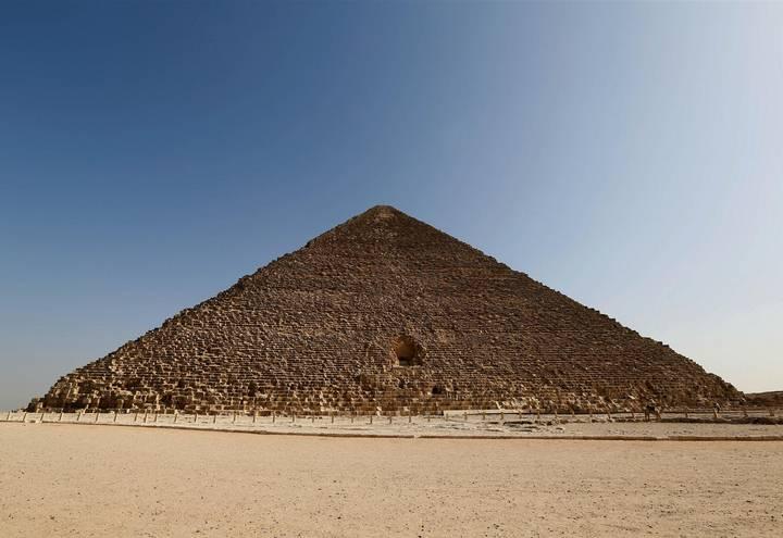 Posible descubrimiento de una recámara secreta en la Gran Pirámide