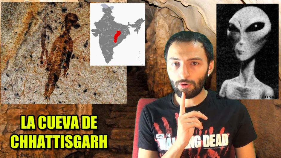 Encuentran una nueva Evidencia Extraterrestre en la cueva de Chhattisgarh