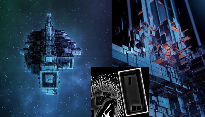Gigantesca estación espacial Alienigena de 100 kilómetros descubierta en foto de la ESA