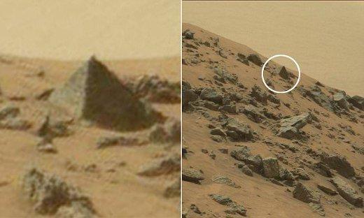 Documento de la CIA revela que encontraron pirámides en Marte