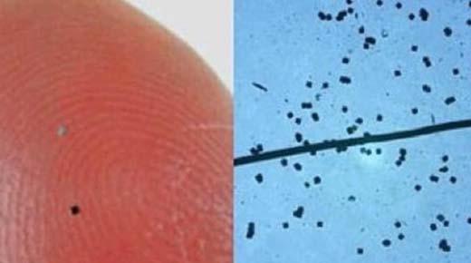 ¡Ten cuidado con el polvo inteligente espolvoreado! 'Ya podrías estar microchipeado'