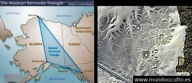 Existe una colosal piramide negra enterrada en el triángulo de Alaska