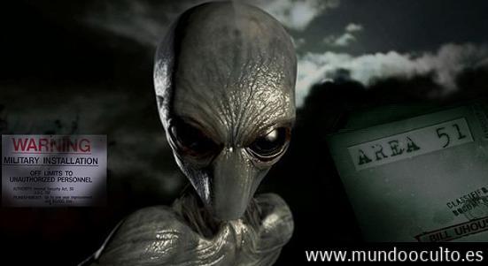 Rompió el silencio: Humanos están trabajando con una raza alienígena en el área 51.