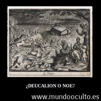 deucalionprometeomitologisgriegacristianismonoediluvioateismo - 5 Historias bíblicas ROBADAS de la Mitología Griega. ¿Y sigues creyendo que es ORIGINAL