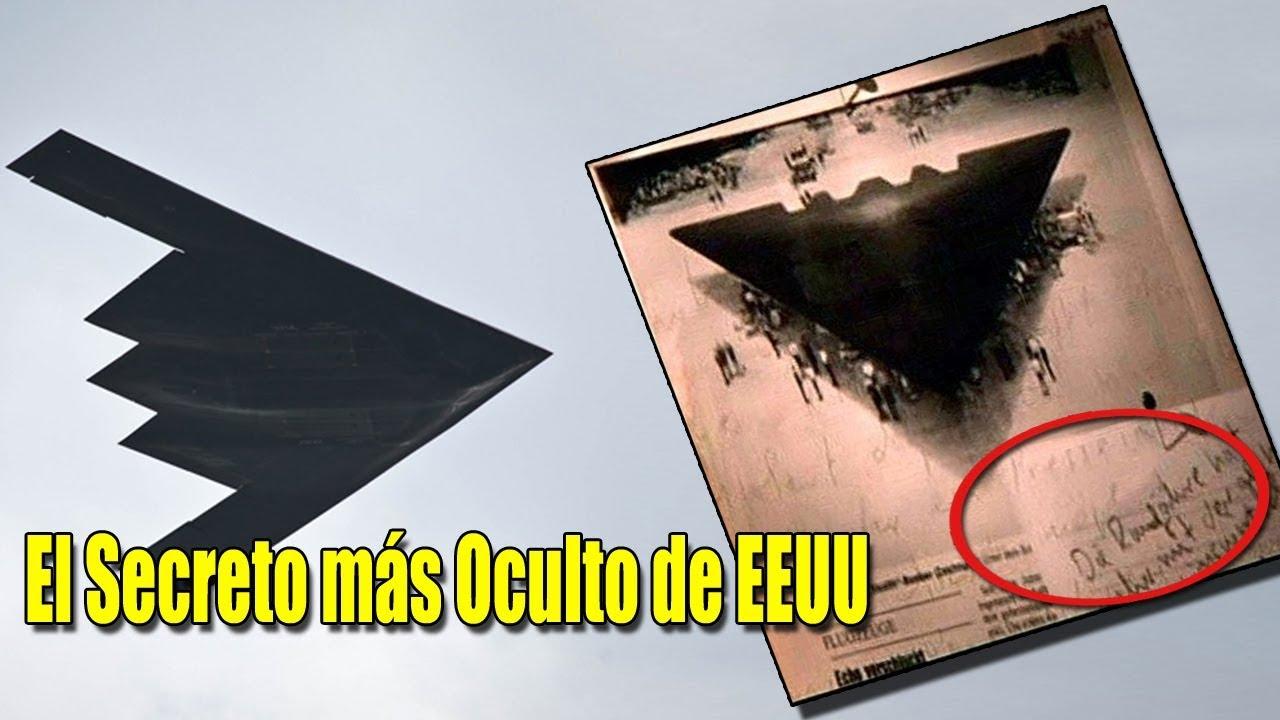 El Secreto más Oculto de EEUU, aviones con tecnología Extraterrestre