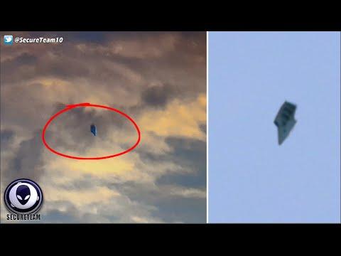 ¿Extraña 'Nave Alienígena' Captada Flotando en las nubes 'Cerca De Una Base Militar de Estados Unidos en Ohio?
